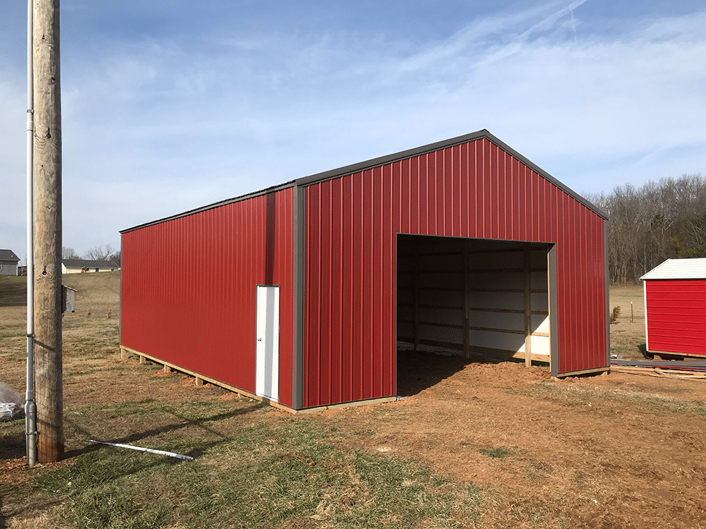 Residential Post-Frame Construction | Garage | Hobby Shop | Keystone Construction | Farm Storage | Kentucky | Tennessee | Illinois | Indiana